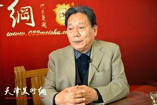著名画家霍然做客天津美术网访谈实录