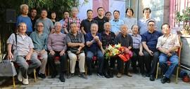 著名画家阮克敏个人作品展在杨柳青柒月美术馆开幕