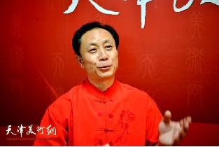 著名画家张大功做客天津美术网访谈实录
