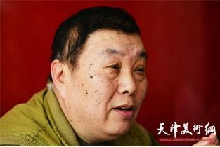 视频:当代美术家张汝为做客天津美术网访谈