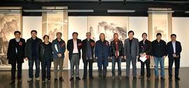 造化一一李旭飞的山水之境画展在天津美术学院美术馆开幕