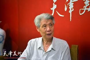 视频:著名画家杨德树做客天津美术网