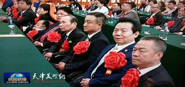 """天津著名画家李锐钧荣获""""全国自强模范""""光荣称号"""