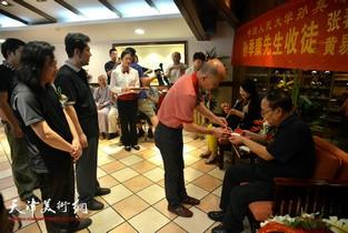 视频:著名花鸟画家孙季康先生收徒仪式