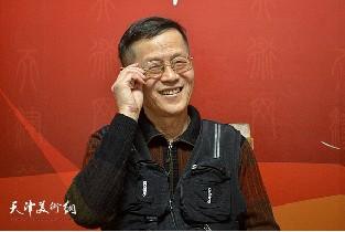 著名书画家尚金声做客天津美术网访谈实录