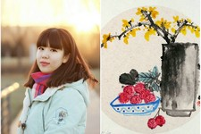 清淡俊雅 意趣天成-天津女画家陈慧婷花鸟画欣赏