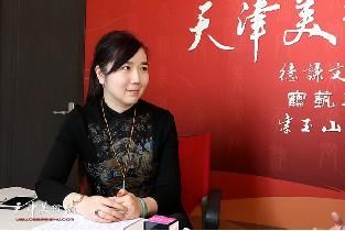 青年画家李悦做客天津美术网访谈实录