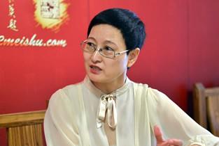 著名书法家郑少英做客天津美术网访谈实录