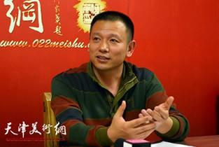著名画家朱彪做客天津美术网访谈实录