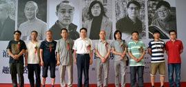 高清图:京津画家联展在天津美术馆举行 传统中感悟生活