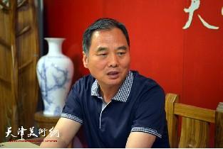 视频:著名画家邢立宏做客天津美术网
