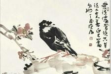 尹沧海教授八哥作品欣赏:融历代名家的绘画语言于一体