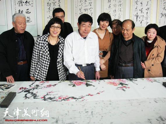 书画家樊兰华