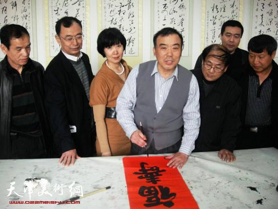 贾兴利书写福寿楷书