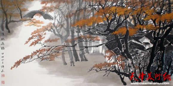 《溪林过桥》