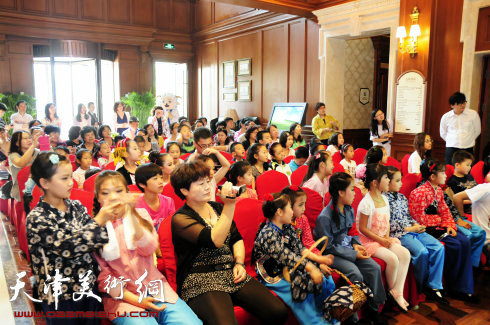 滨海新区第二届少儿书画大赛举办评剧周末票友会图片