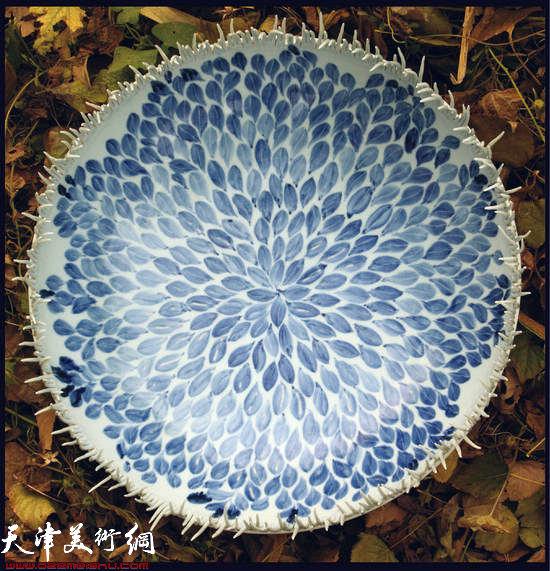 刘立刚陶艺欣赏:怒放之二  2009年