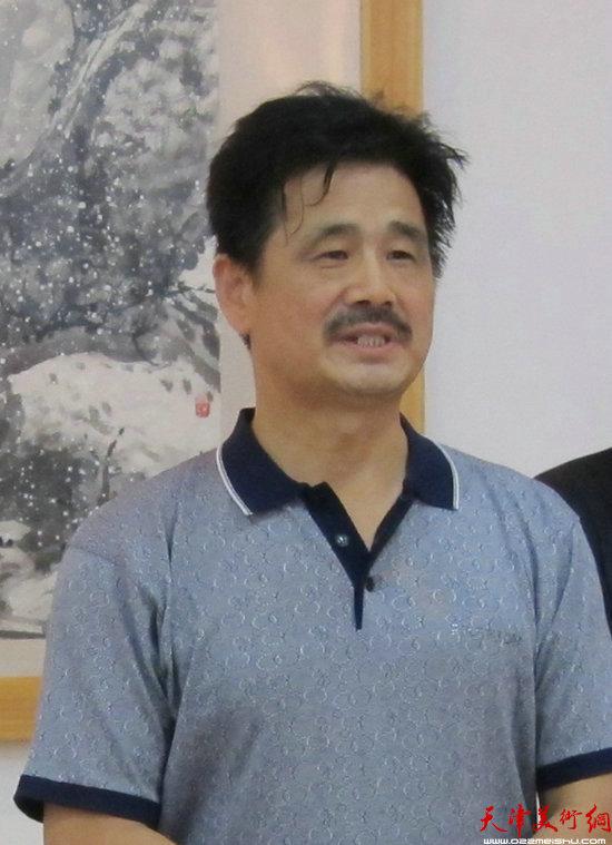 东营市美协原主席杨长喜讲话