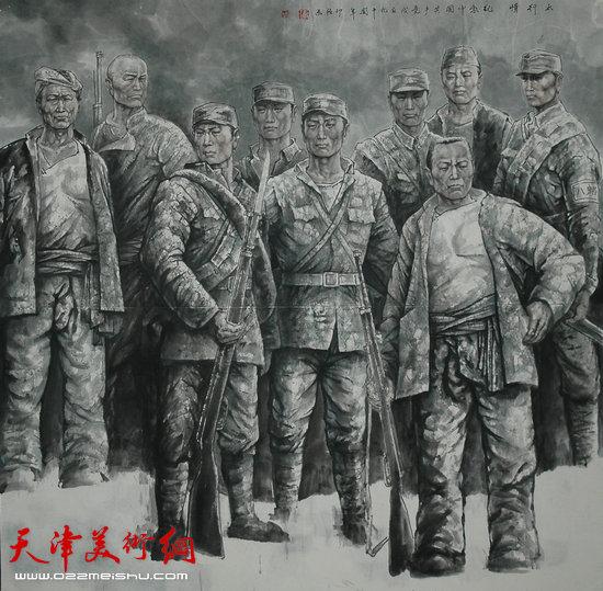 王印强作品:《太行愤》
