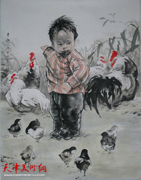 王印强作品:《童趣》