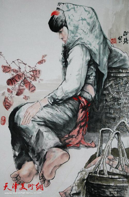 王印强作品:《赏秋》