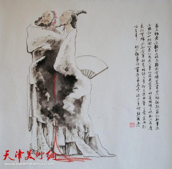 王印强作品:《风骨》
