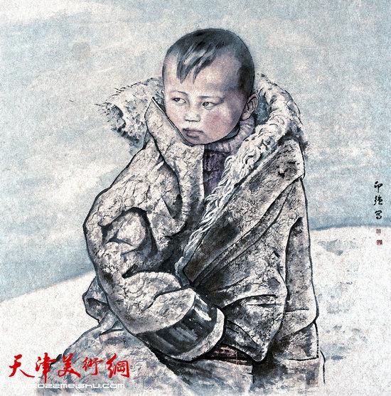 王印强作品:《藏童》