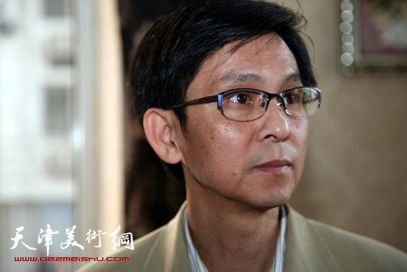 中国工笔画学会副会长何家英