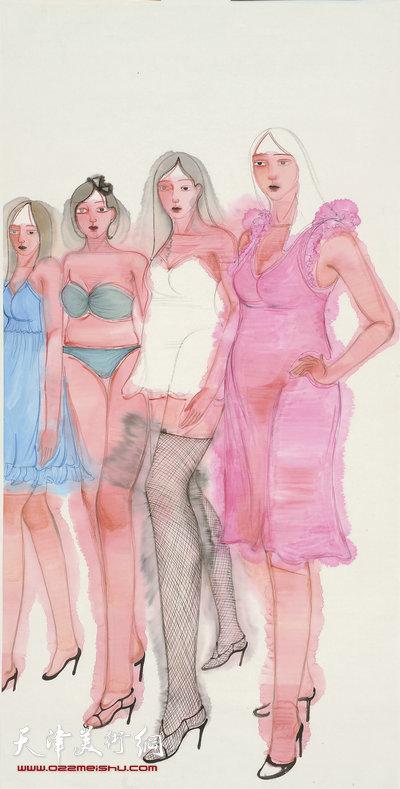 马兆琳作品:《女性》