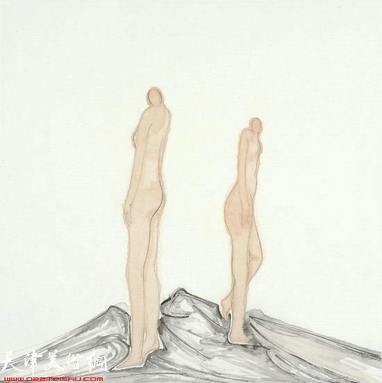 马兆琳作品:《人与人》