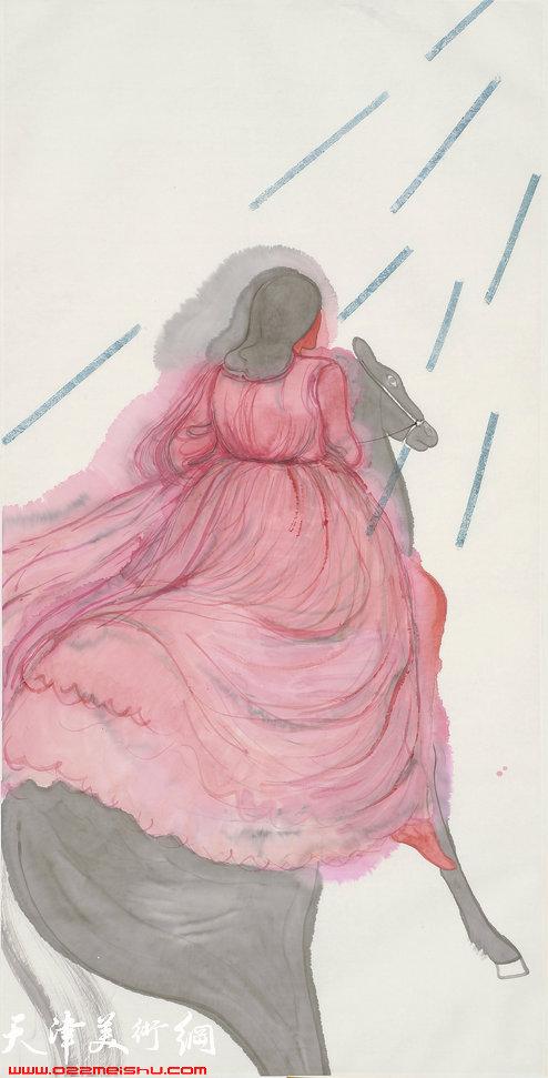马兆琳作品:《雨》