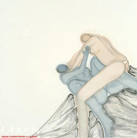 马兆琳作品:《无法逃离》