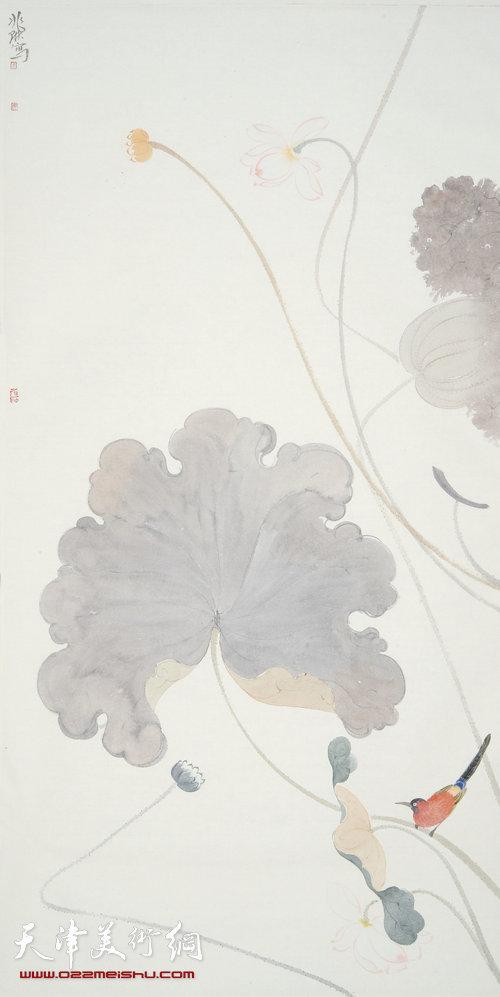 马兆琳作品:《花鸟》