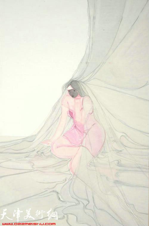 马兆琳作品:《黑脸》
