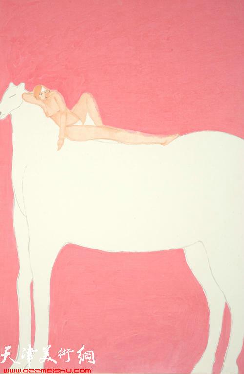 马兆琳作品:《白马》
