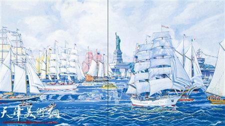 卢德辉作品:《纽约扬帆航行节》