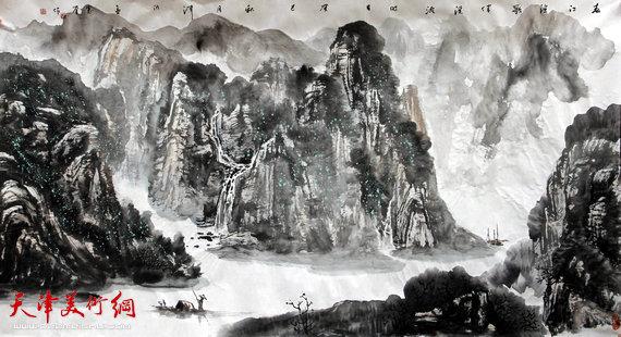 孟宪奎新作:《春江渔歌》(系列)