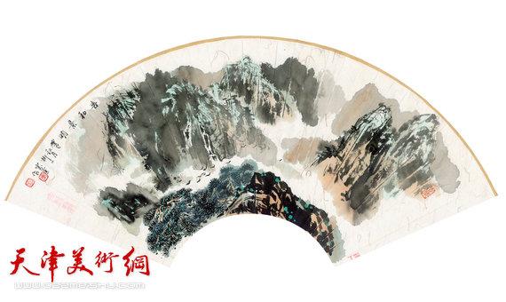 孟宪奎新作:《山水》