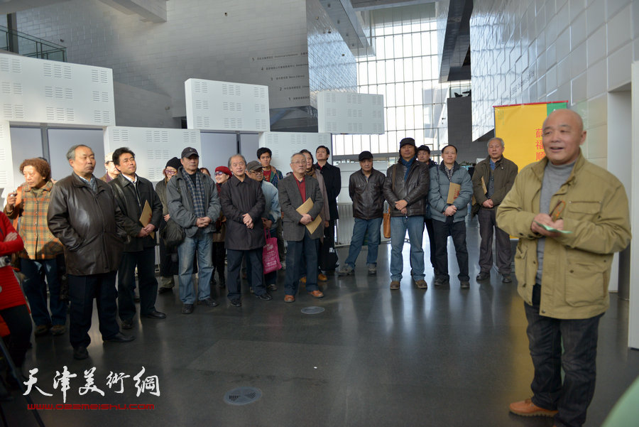 """薛福顺油画展""""从白洋淀到大天津""""1月26日在津开幕"""