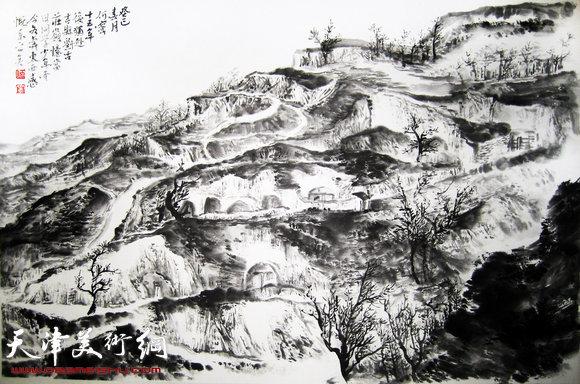 何宁作品:刘古庄岭写生 8
