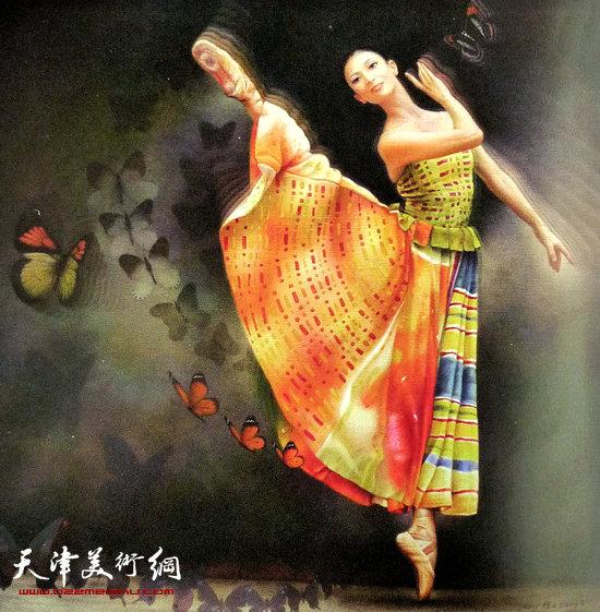 程亚杰作品:蝶舞
