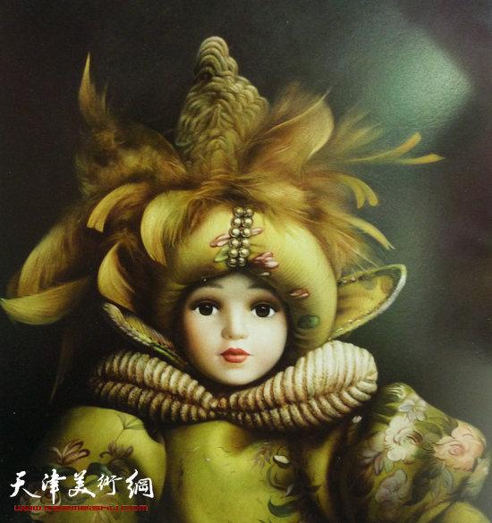 程亚杰作品:小公主