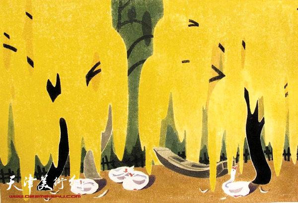 薛福顺作品:《暖秋》