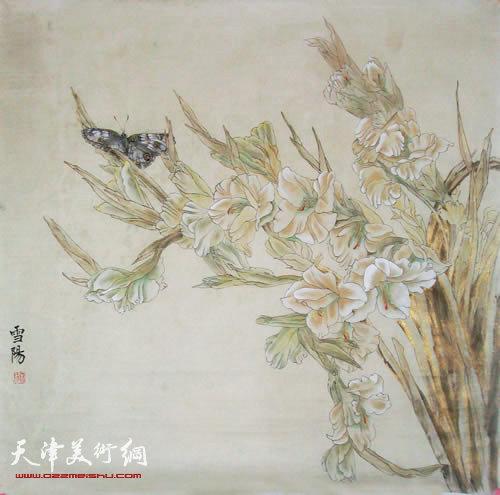 当代青年女画家庄雪阳:工笔画也需写意精神|中国画