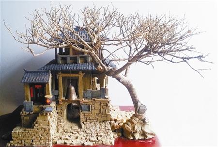 农村的房子多是依山而建