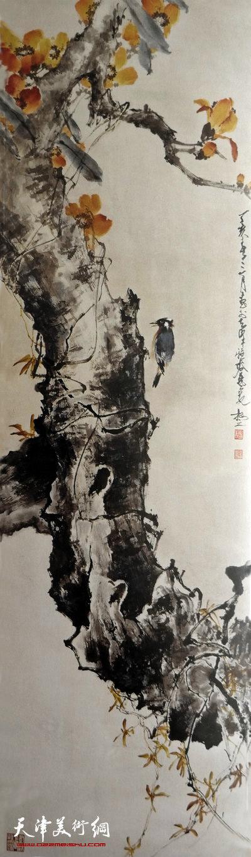 刘正明作品:《越秀高标》