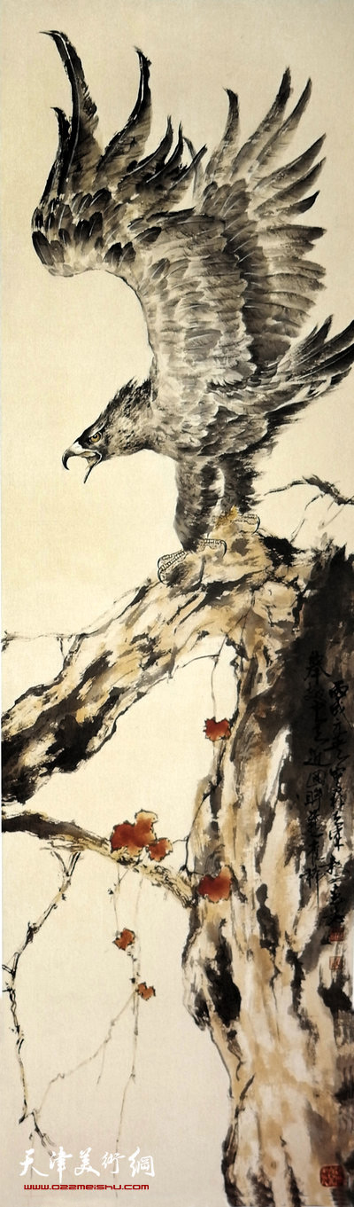 刘正明作品:《高瞻》