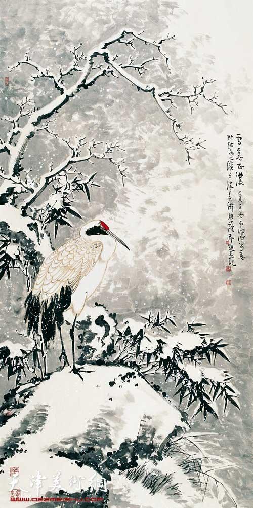 李云涛作品:《雪意正浓》