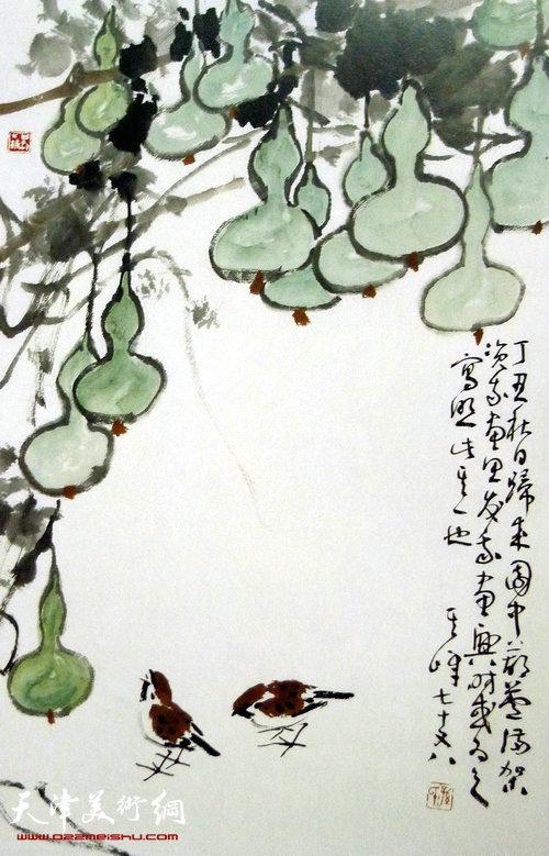 仙鹤为什么上了松树  有一