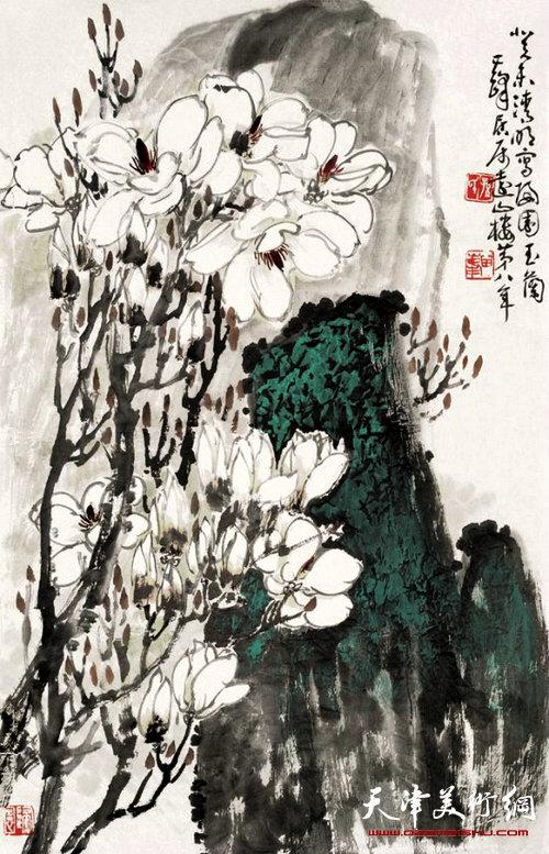 孙其峰作品:春花怒放